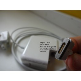 FONTE CARREGADOR APPLE 45W MACBOOK RETINA MAGSAFE2